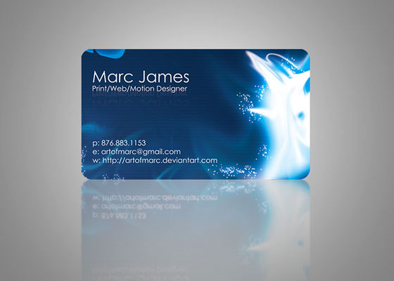 Art of Marc Business Card