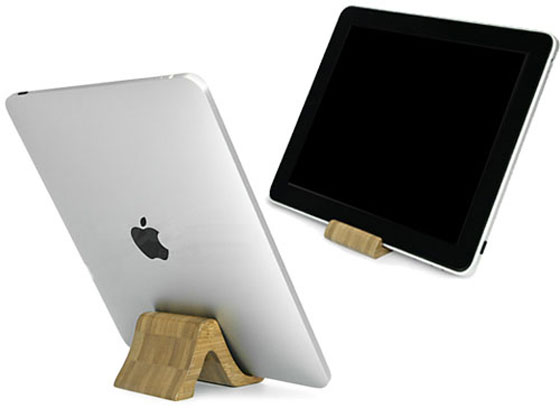 Bamboo-iPad-Mini-Stand Ipad Stands Unique Collection