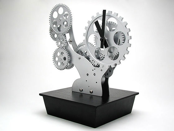 Bonsai-Gear-Clock Clock Designs Inspiration