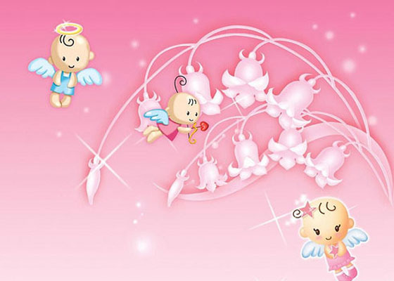 Cupid-Valentine Most Beautiful Valentines Wallpapers