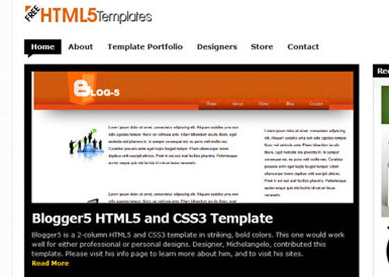 Freehtml5 Templates