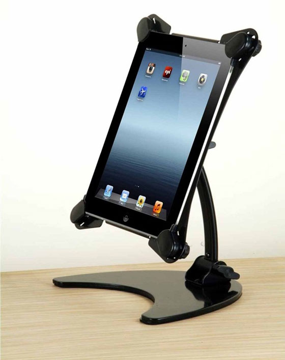 Metal-Desk-Stand Ipad Stands Unique Collection