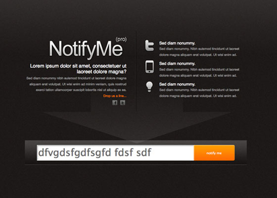 NotifyMe 30 Gorgeous under construction pages
