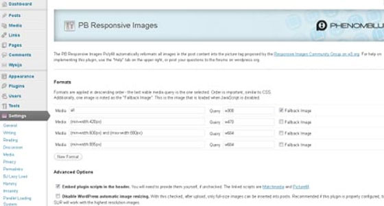 PB Responsive Images
