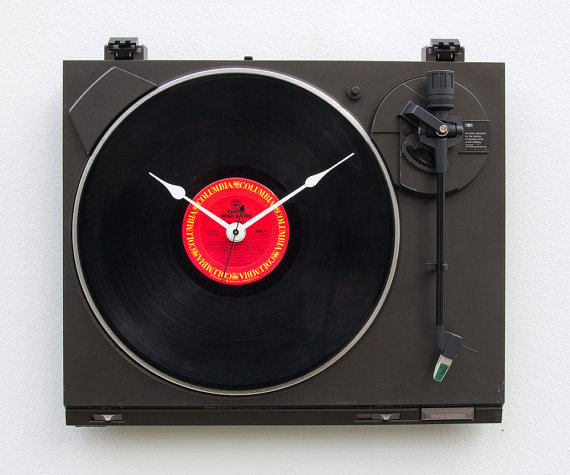 Recycled-Sanyo-Clock Clock Designs Inspiration