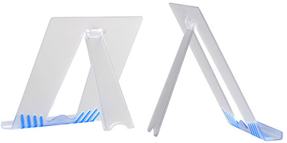 Universal-Clear-Tablet-Stand Ipad Stands Unique Collection