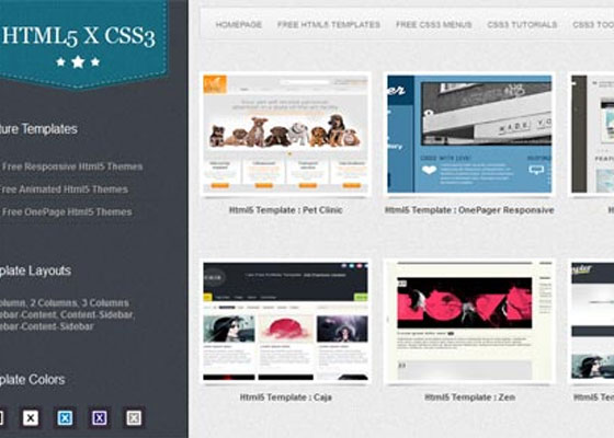 Collection Of Best And Free Web Templates Web3mantra
