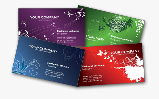 Free Business Card Templates Webmantra - Personal business cards templates free