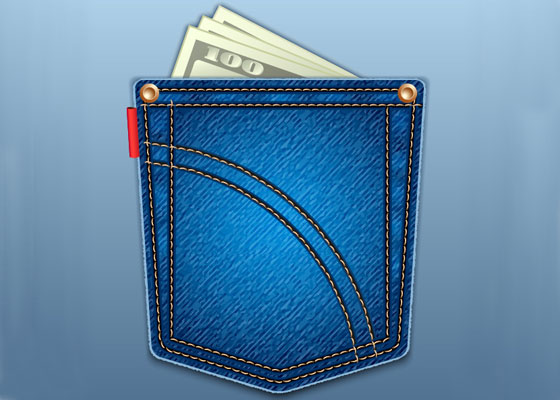 Create a Jeans Pocket Icon