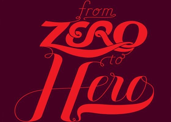 Create a Variety of Script Lettering