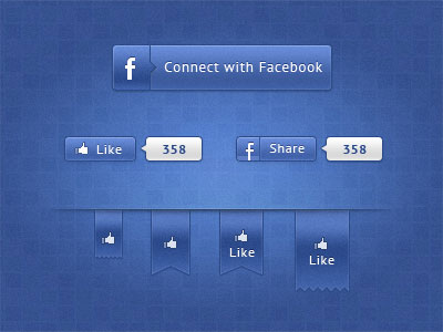 Facebook Ui elements