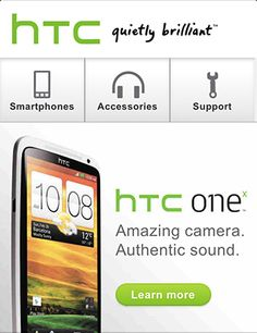 HTC 40+ Mobile web designs inspiration