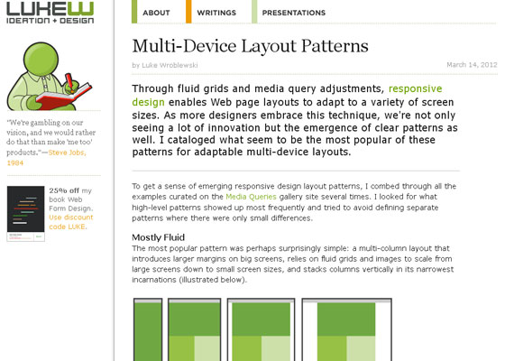 Multi-Device Layout Patterns