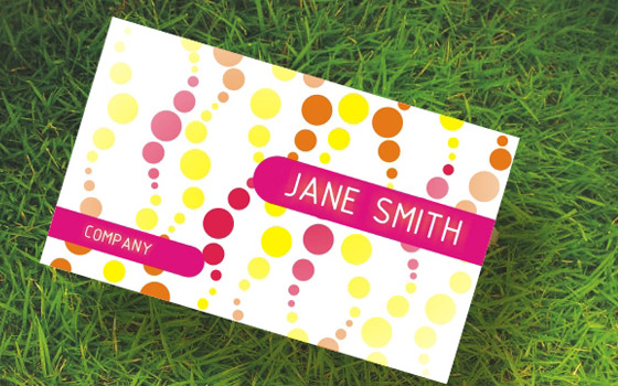 Women Business Card