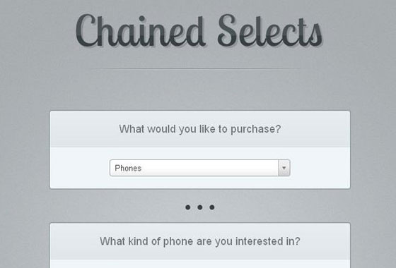 chained ajax selects jquery