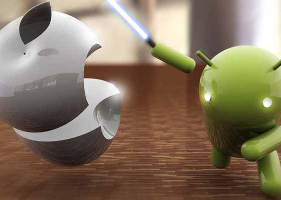 3d android vs apple
