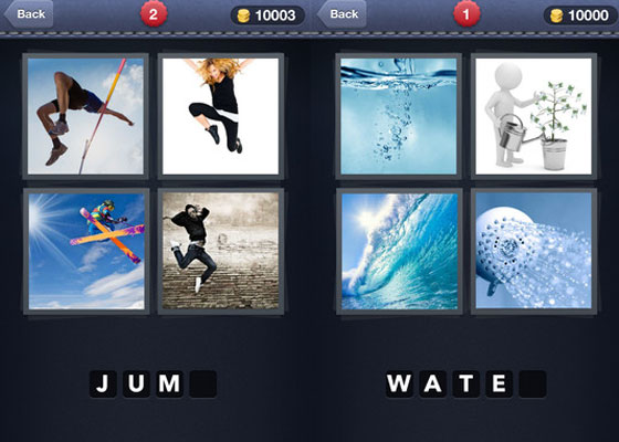 4-Pics-1-Word 30+ Iphone addective games