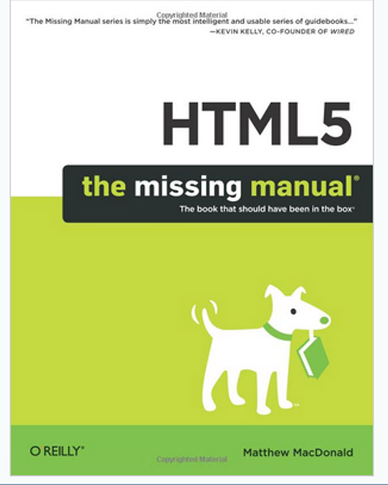 HTML5 The Missing Manual