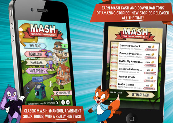 MASH 30+ Iphone addective games