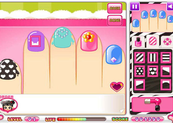 Nail-Salon 30+ Iphone addective games