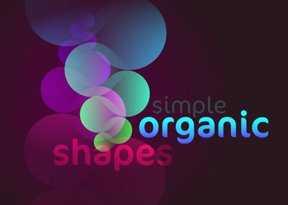 Simple organic shapes