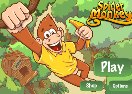 Spider-Monkey 30+ Iphone addective games