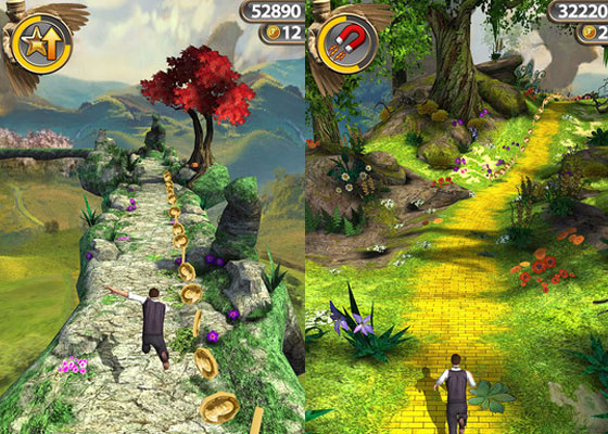 Temple-Run 30+ Iphone addective games