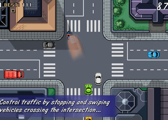 Traffic-Rush 30+ Iphone addective games