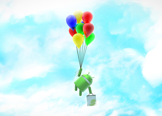 android balloons
