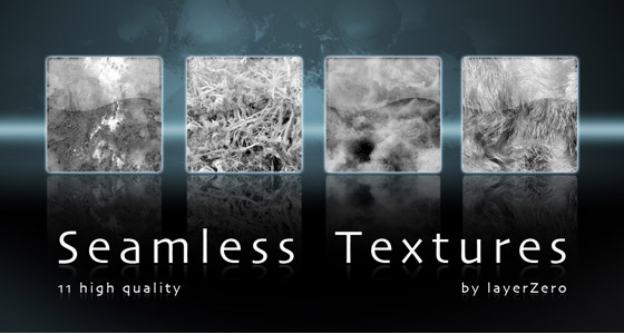 black and white seamless textures