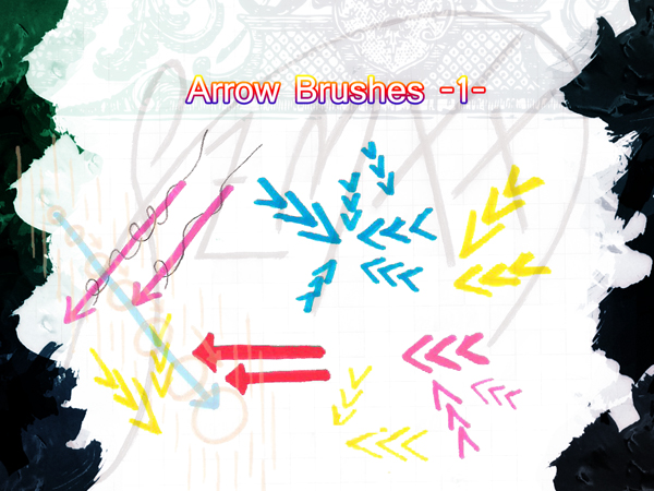 Arrow brushes1