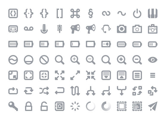 Batch Free Icon Sets to Bookmark