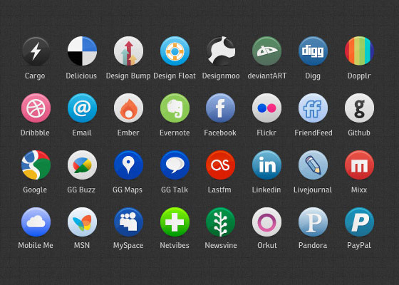 Buddycons Free Icon Sets to Bookmark