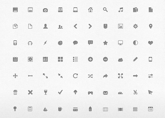 MimiGlyphs Free Icon Sets to Bookmark