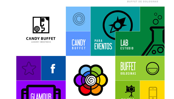 candybuffet Grid based Awesome Website Designs