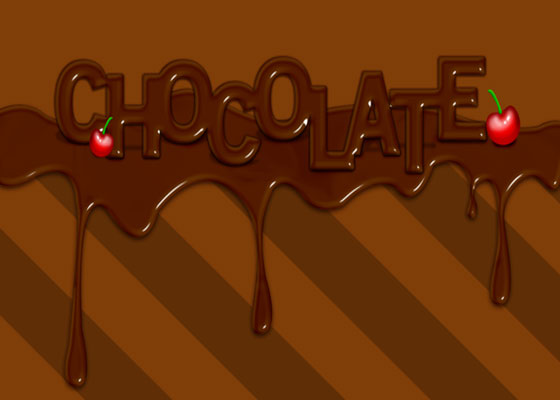 chocolate-text-effect