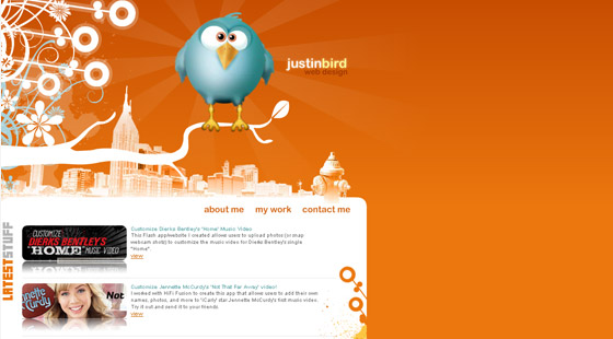 justinbird 35 Increase Your Creativity to Inspirational Design Portfolios
