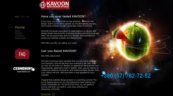 kavoon 35 Increase Your Creativity to Inspirational Design Portfolios