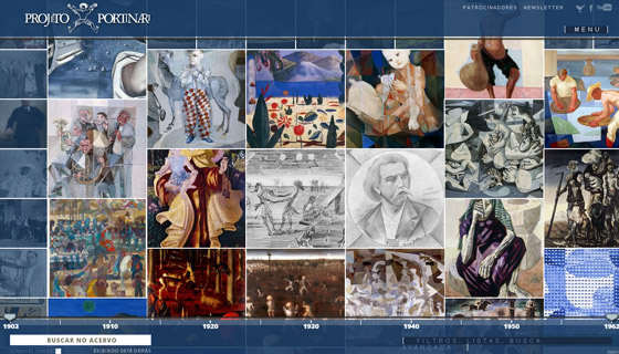 portinari Grid based Awesome Website Designs