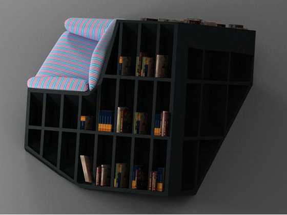 Unusual book case