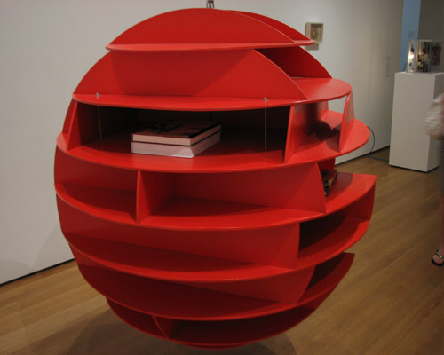 Sphere Book shelf