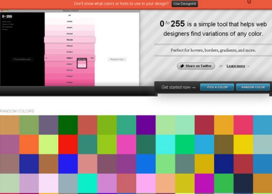 Color Palette tools