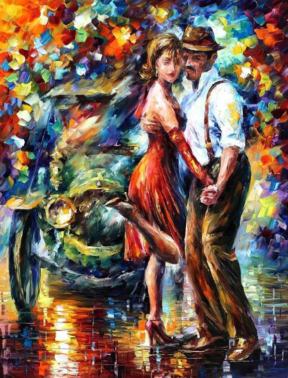 Dance Oil Paintings