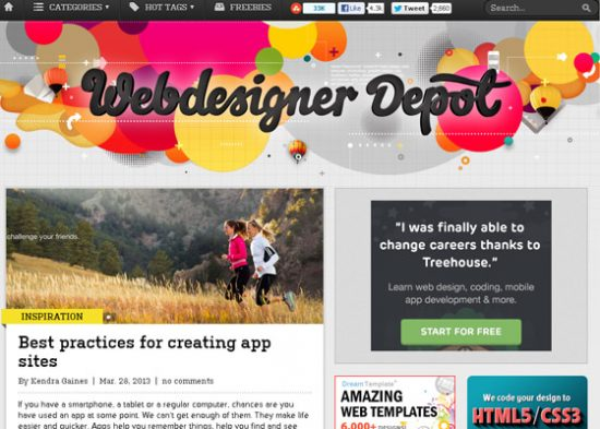 web designed blogs