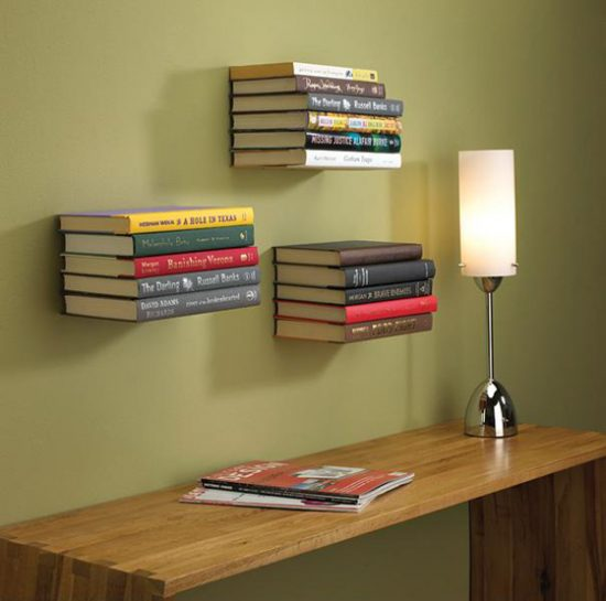 Unusual bookshelf