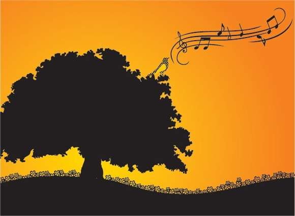 CMBII01_thumb 15+ Creative Music Background Illustrations