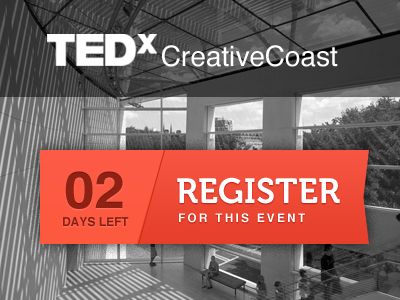 Tedx Creative Coast makeover