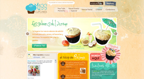 food-websites-15 40+ Food Inspired Website Designs: Sweet & Tasty Inspiration