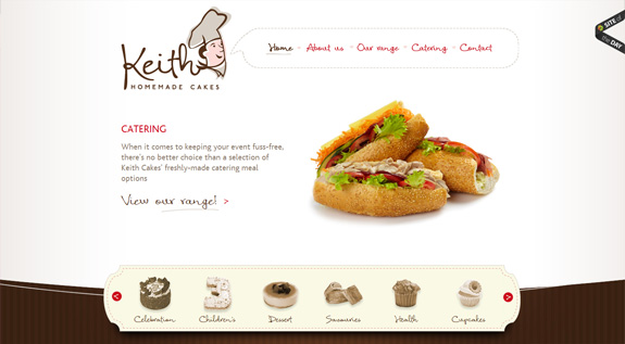 food-websites-39 40+ Food Inspired Website Designs: Sweet & Tasty Inspiration