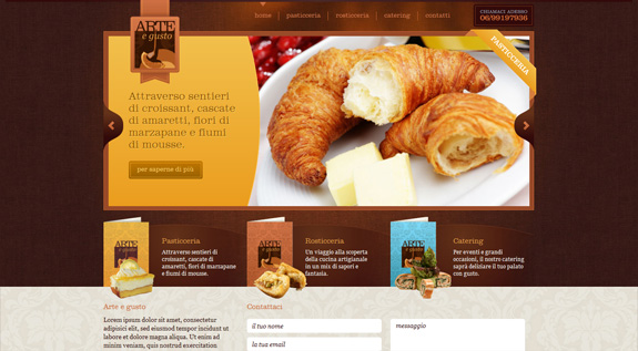 food-websites-43 40+ Food Inspired Website Designs: Sweet & Tasty Inspiration